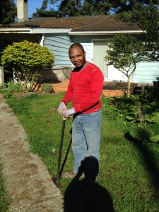 Louis Bizimana profile picture. Part of the Ladybug Landscaping team