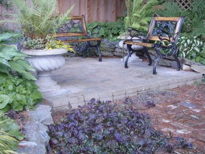Patio work for the Dearden's - Ladybug Landscaping